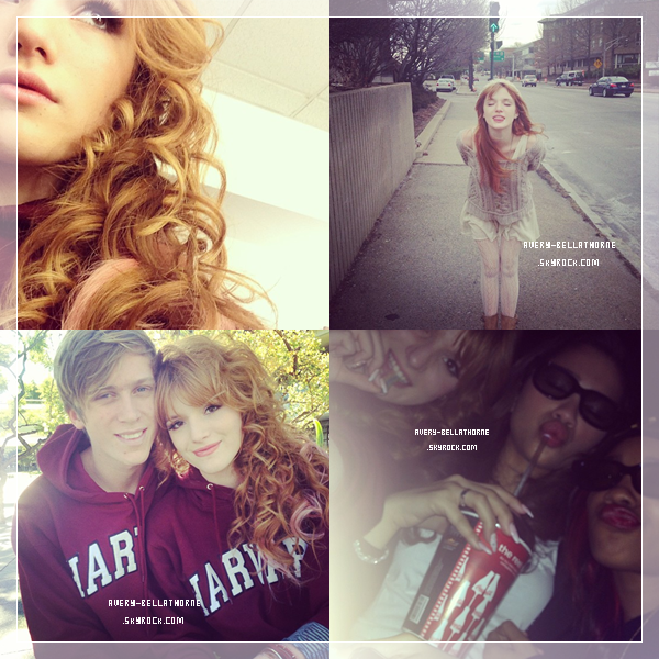 Nouvelle photos de Bella a et De retour de Boston .