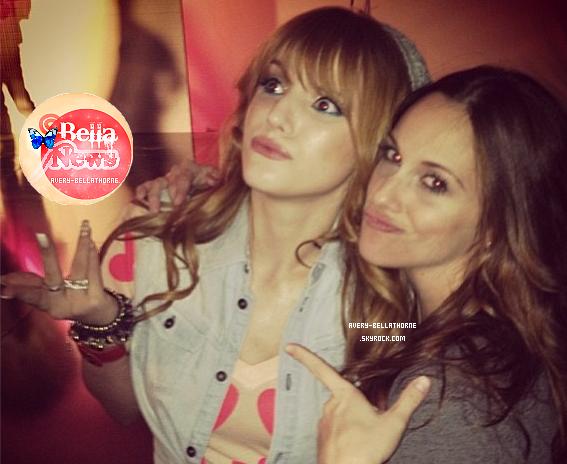 Nouvelle photos Twitter de bella le 26 janv. 2013.