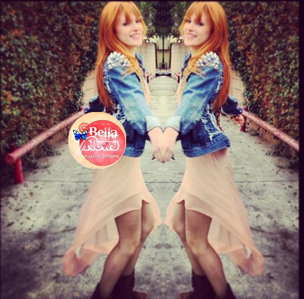 Nouvelle photos Twitter de bella le 27 & 28 janv. 2013.