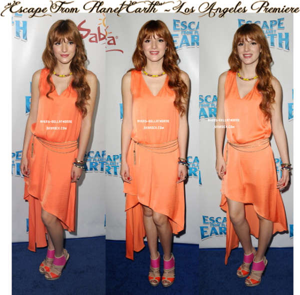 """Escape From Planet Earth"" - Los Angeles Premiere / 2 Fév . 2013 ."