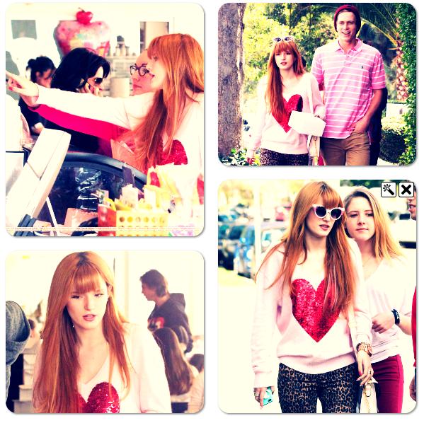Bella, et sa famille ont été vu au Duff Cakemix le 10 fév. 2013