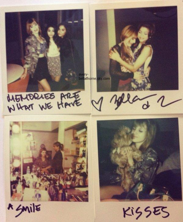 12/03/13. Bella et Stella Hudgens chez Urban Oufitters