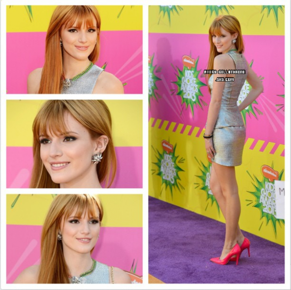 Bella au Kids Choice Awards 2013 le : 23/03/13