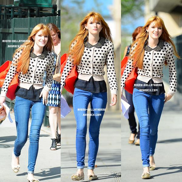 Bella se rend en CBS Studio ! le : (26/03)