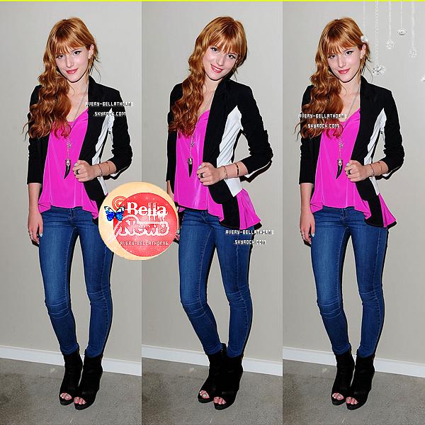 Bella a réalisé un Photobooth à l'anniversaire de Perez Hilton le 23/2013.