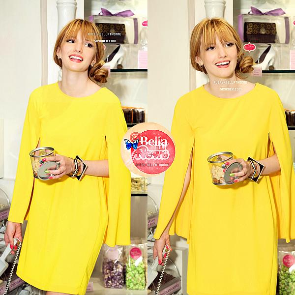 Bella et Olivia dans le magasin Sugar et Plumm à New York le 2 avril 2013.