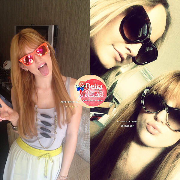 Bella et Stella au festival de Coachella le 12 avril 2013.