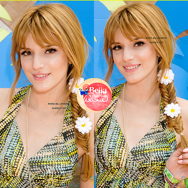 Bella au brunch de Just Jared/Armani Exchange Music Festival le 13 avril 2013.