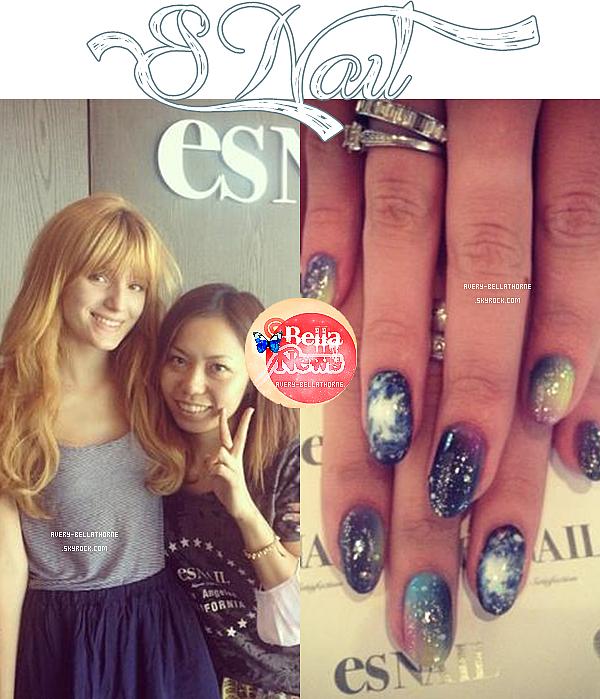 Bella et Olivia Grace faisant du shopping au grove Beverly Hills le 26 avril 2013.