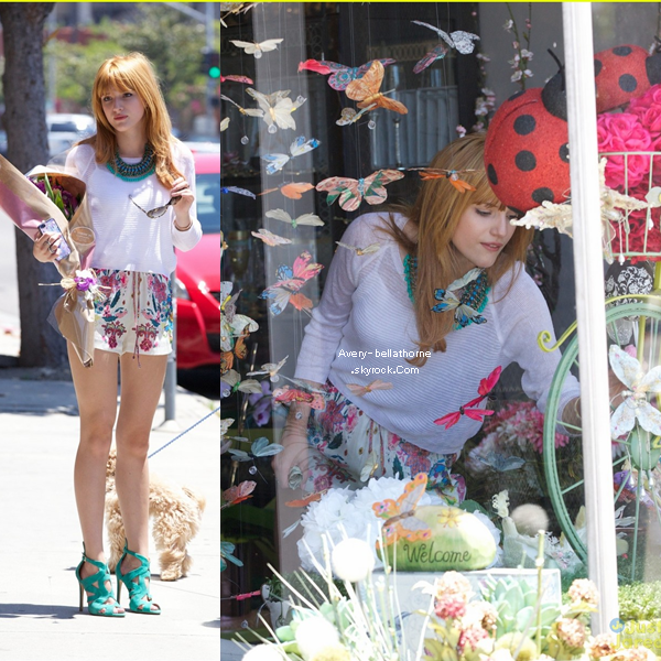 Le 13 Mai 2013, Bella était au Lax Airport .