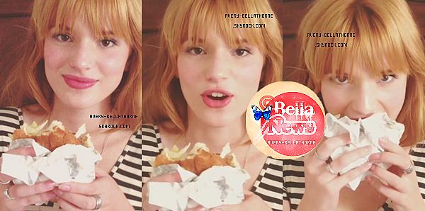 Nouvelle photos Twitter de bella du 27 juin 2013.