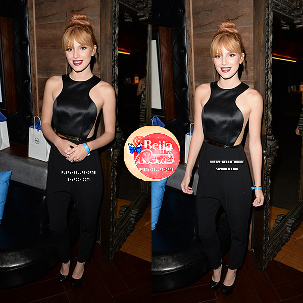 Bella au Dell Hosts au Hyde Lounge au concert de Beyoncé -1 juillet 2013.