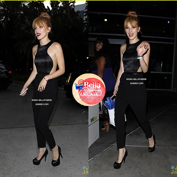 Bella quittant le concert de Beyoncé -1 juillet 2013.