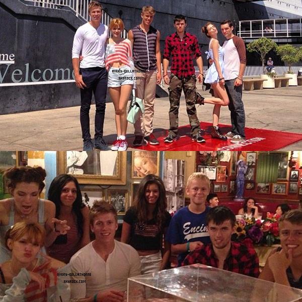 Nouvelles photos twitter de Bella, de ses amies- 4 juillet 2013.