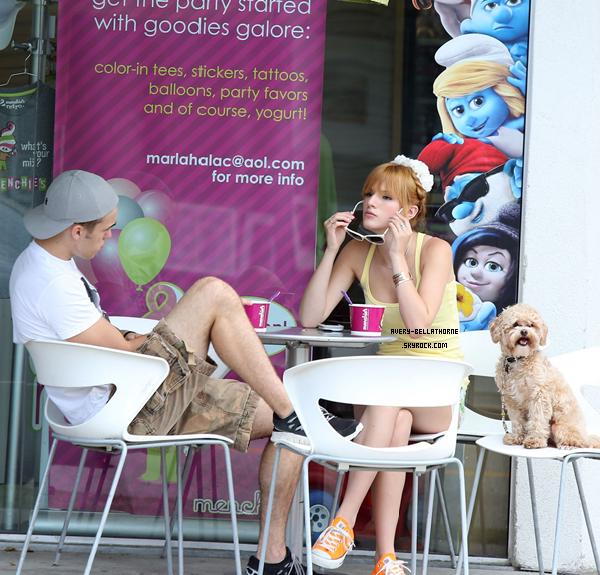 Bella et son frère Remy - le 8 juillet 2013.