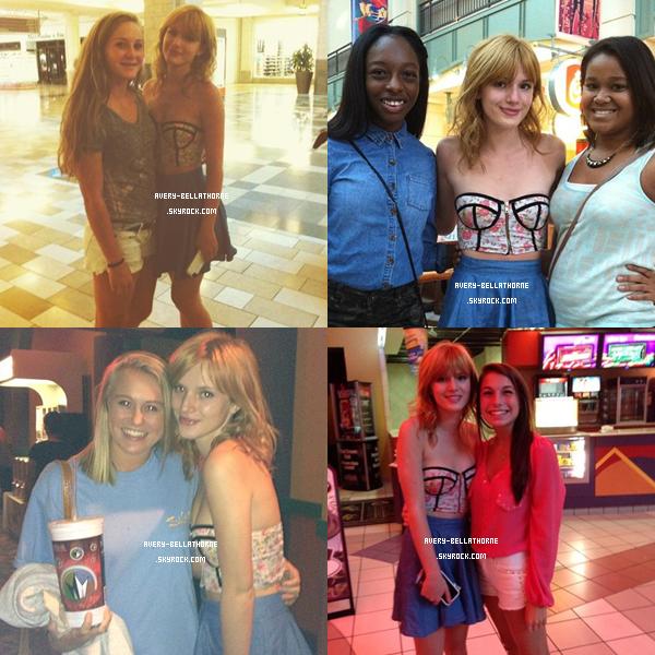 Nouvelles photos de Bella à Atlanta du -17 et 18 juillet 2013