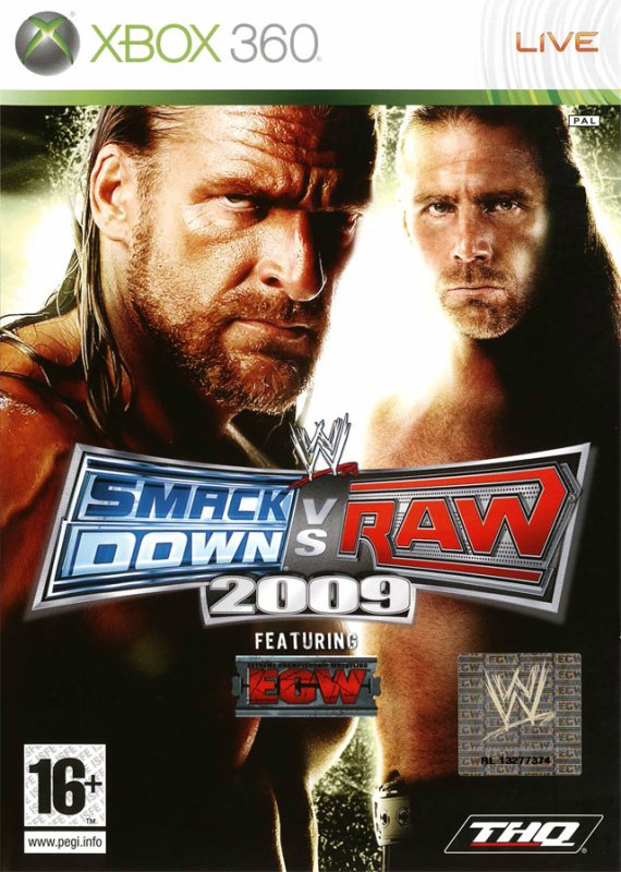 TEST SMACKDOWN VS RAW 2009