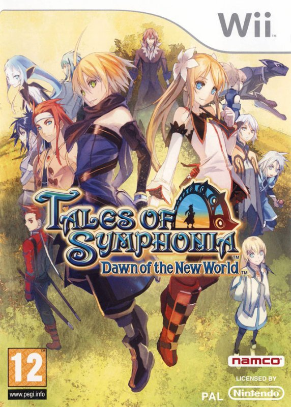 Test de Tales of symphonia : Dawn Of The New World.