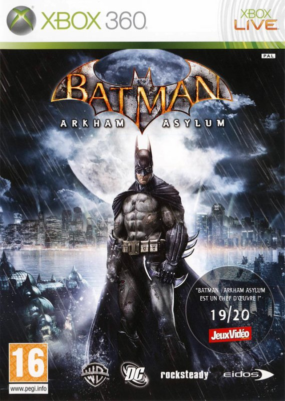 Test Batman Arkham Asylum (360)