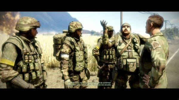 TEST BATTLEFIELD: BAD COMPANY 2
