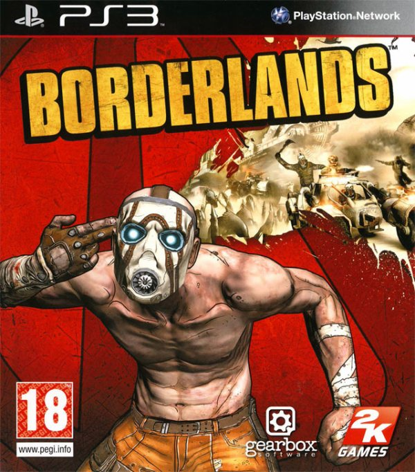 TEST BORDERLANDS PS3