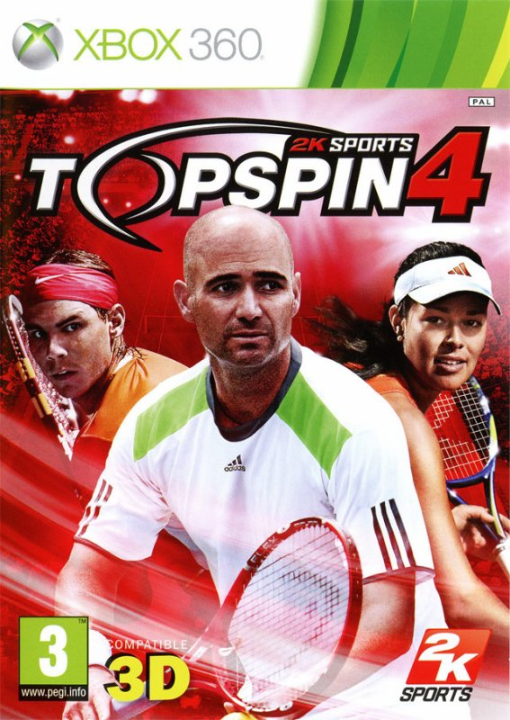 TEST TOP SPIN 4 (Xbox 360)
