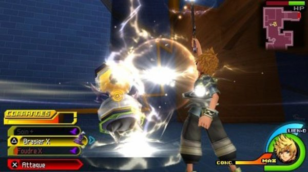 Test Kingdom Hearts: Birth By Sleep (PSP)