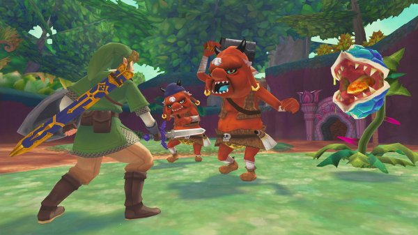 Test The Legend of Zelda: Skyward Sword