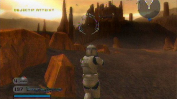 Test Star Wars Battlefront II (PS2)