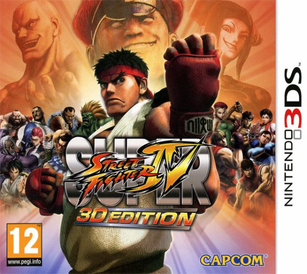 Test Super Street Fighter 3D Edition