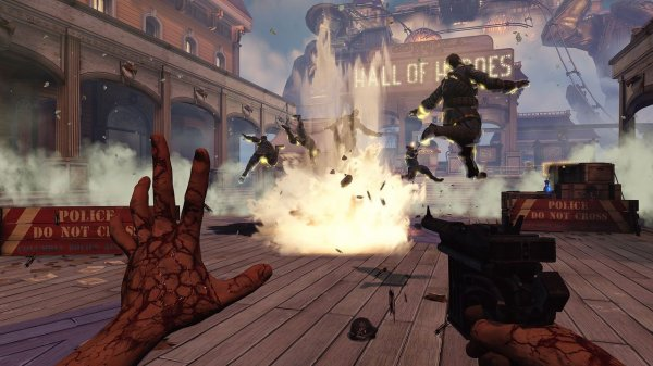 Test Bioshock Infinite, envolons nous pour Columbia !