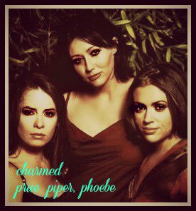 charmed trio de prue,piper,phoebe