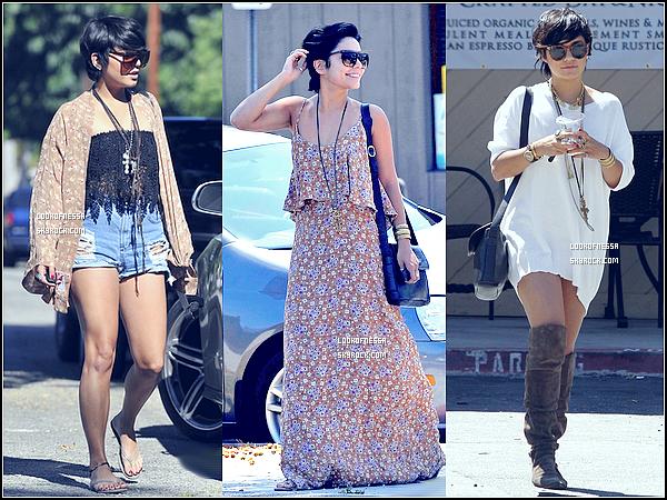 Los Angeles20.08.2011 - De sortie avec des amis.21.08.2011 - Rdv avec une personne.22.08.2011 - Shopping quotidien.