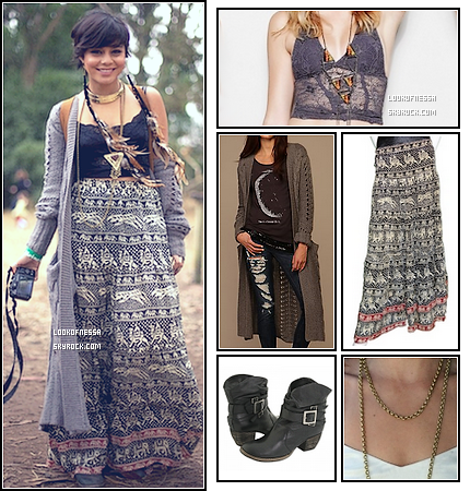 San Francisco                                                                                                                                                                                                                                                                                                                                                                      TENUE                                 11 et 12.08.2011 - Au festival « Outside Lands ».                                                                                                                                                                                          proposé par lookofnessa.sky
