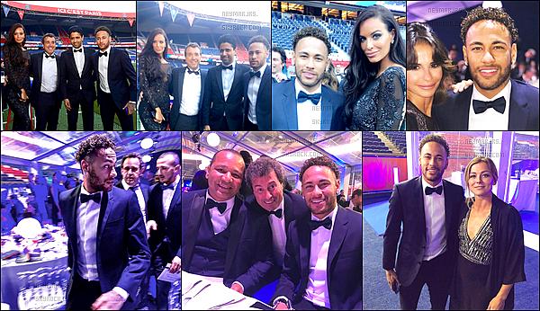 15 mai 2018: ▬Mardi soir, le gala de la Fondation PSG a été un succès, la vente a permis de récolter 1,6M d'euros. Le lendemain, l'équipe s'entraînait au Parc des Princes devant les enfants de l'association PSG, Neymar lui, est venu saluer les enfants.