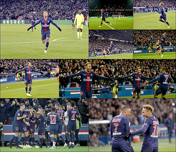 2 Novembre 2018 : ▬ LeParis Saint-Germain recevait Lille à l'occasion de la douzième journée de Ligue 1. (2-1) Le duo Neymar/Mbappé a finalement fait basculer la rencontre : le Français a ouvert le score avant que le Brésilien ne fasse le break.