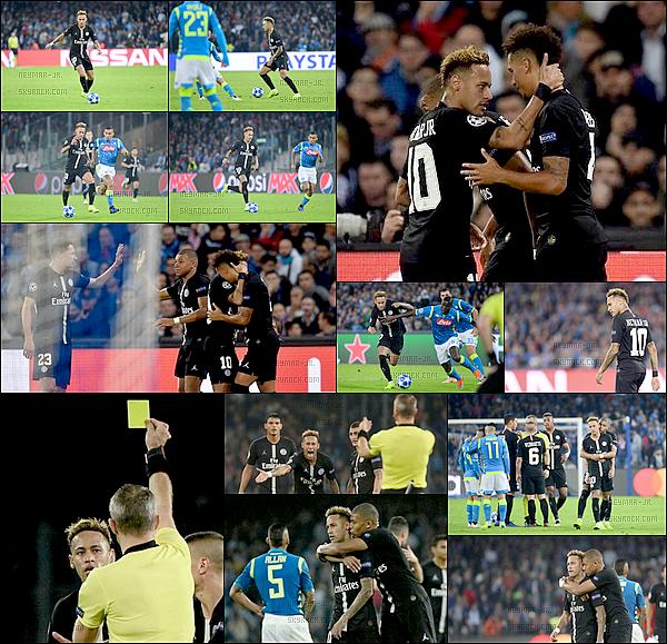 6 Novembre 2018: ▬Le PSG se déplaçait à Naples à l'occasion de la quatrième journée de Ligue des Champions. (1-1) Les Parisiens repartent avec le point du match nul. Bernat avait ouvert le score juste avant la mi-temps mais Naples a su égaliser sur pénalty.