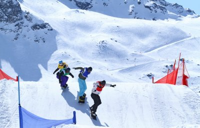 Coupe de France de Snowboard Cross