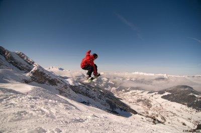 Freeride dans les montagnes !