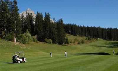 Les clubs de golf remplacent les skis à Chamonix