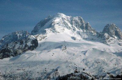 L'ascension du Mont Blanc en soutien à Annecy 2018
