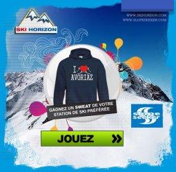 5 sweat-shirts personnalisés à gagner avec SkiHorizon&Slopeseeker!