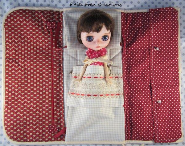Les pochettes de  transport pour poupée