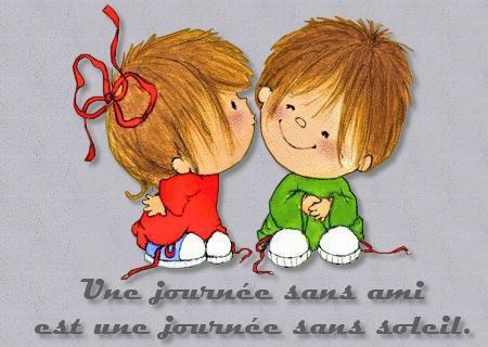 L'amitié est une inclination réciproque entre deux personnes