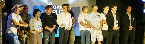 Trophée du rugby France bleu Pays Basque .