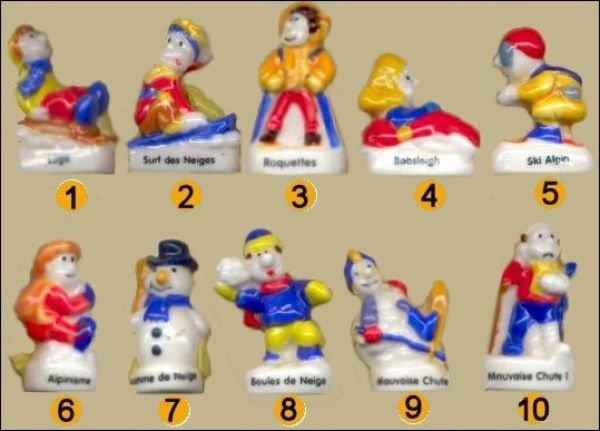 21ème série complète - Les sports d'hiver - 2005