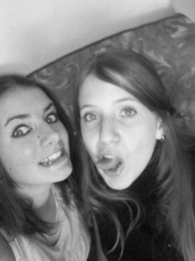 moi et ma meilleure amie Laura