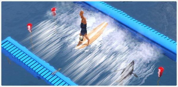 Les Sims 3 Store - Machine à vagues Super Surf & Soleil