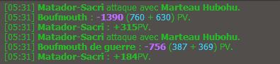 Up 80 / Maj 2.7 / Préparation des stuffs