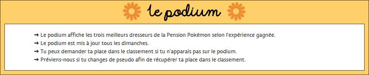 Les règles de la Pension Pokémon